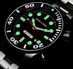 Reloj Marc & Sons MSD-020 - Automático - Zafiro - 1000 m