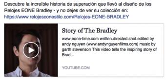Video de los Relojes Bradley de Eone