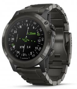 a285bacc565e Garmin D2™ Delta PX Reloj de Piloto con brazalete DLC Titanium
